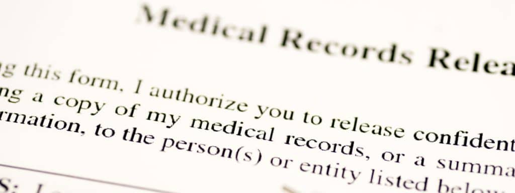 Medical Records Release for a Workers' Compensation Claim