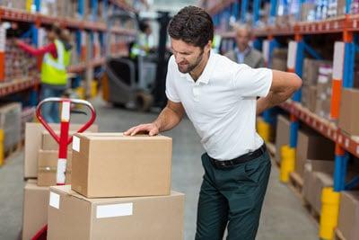 Amazon warehouse worker injury maryland